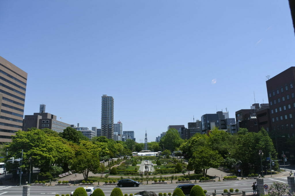 本日の札幌