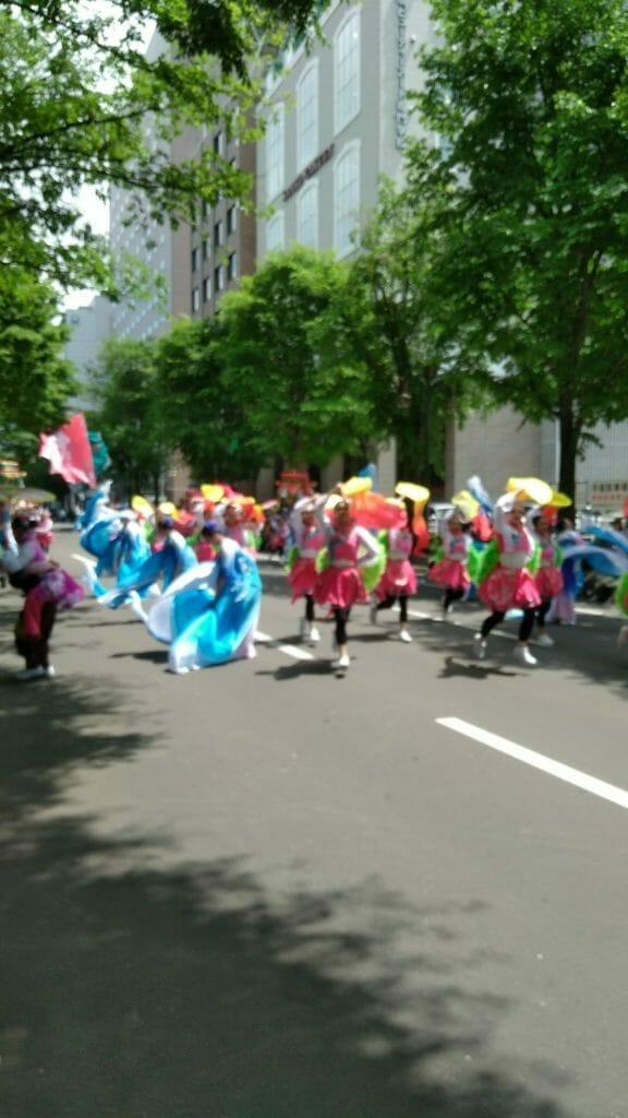 台湾チーム-よさこいソーラン祭り