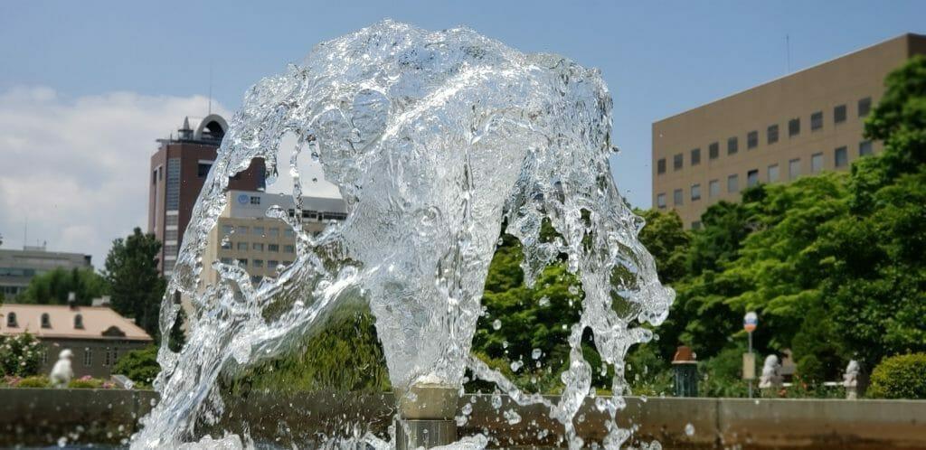 噴水-札幌-大通公園