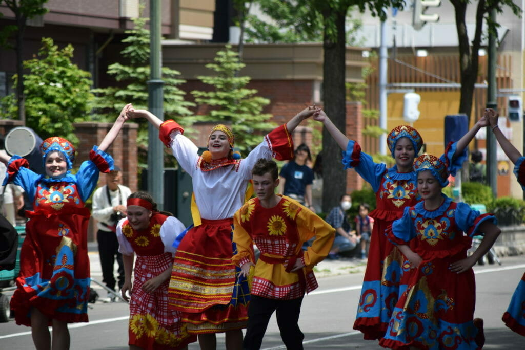 国際化するよさこいソーラン祭り