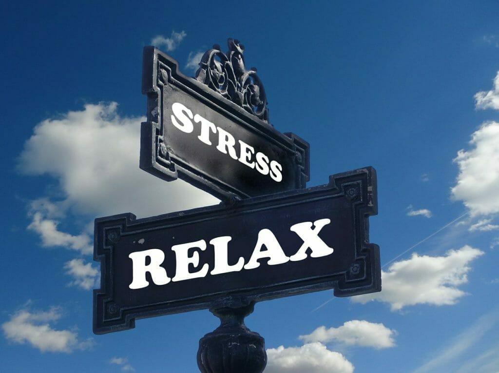 ストレス-リラックス