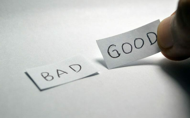 万人に当てはまる正解-good-bad
